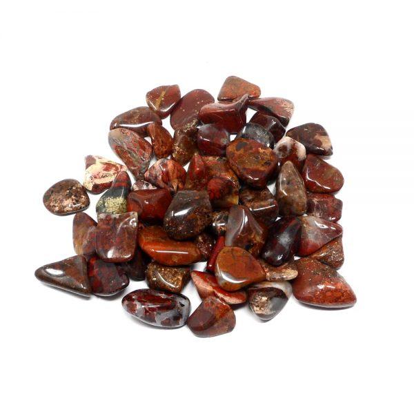 Brecciated Jasper md tumbled 8oz All Tumbled Stones brecciated jasper