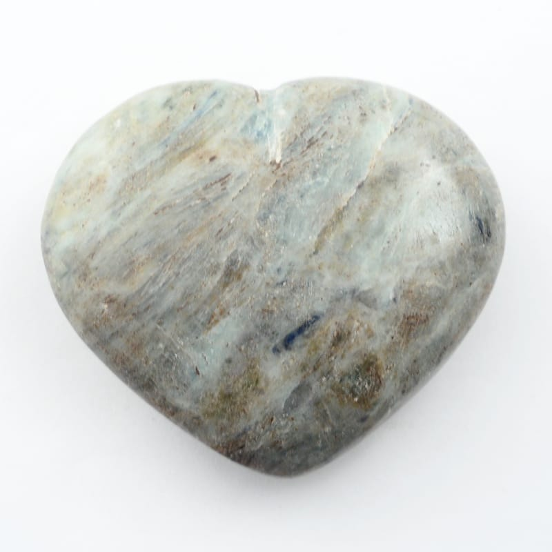 Kyanite, Blue/Green Heart All Polished Crystals blue green kyanite