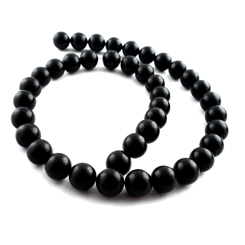 Jet Bead Strand All Crystal Jewelry beads