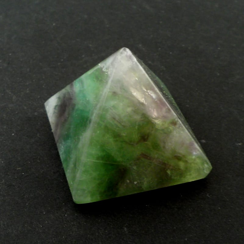Fluorite Pyramid All Polished Crystals fluorite