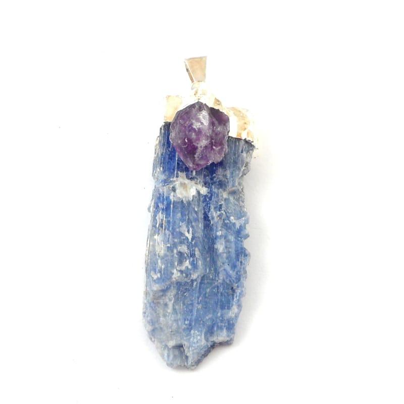 Kyanite with Amethyst Pendant All Jewellery