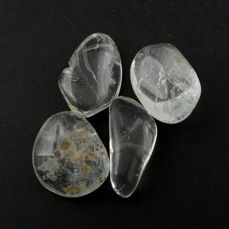 Topaz, Blue, tumbled, 1oz All Tumbled Stones
