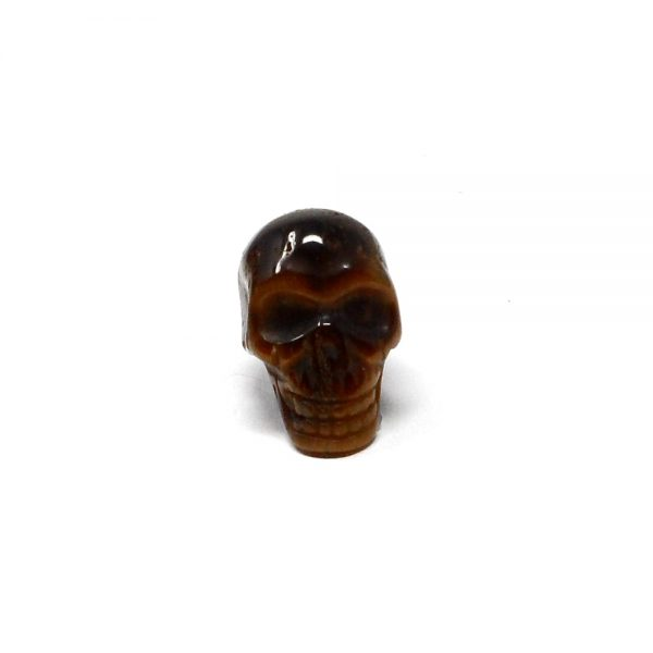 Tiger Eye Mini Skull All Polished Crystals crystal mini skull
