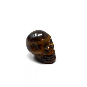 Tiger Eye Mini Skull All Polished Crystals crystal mini skull