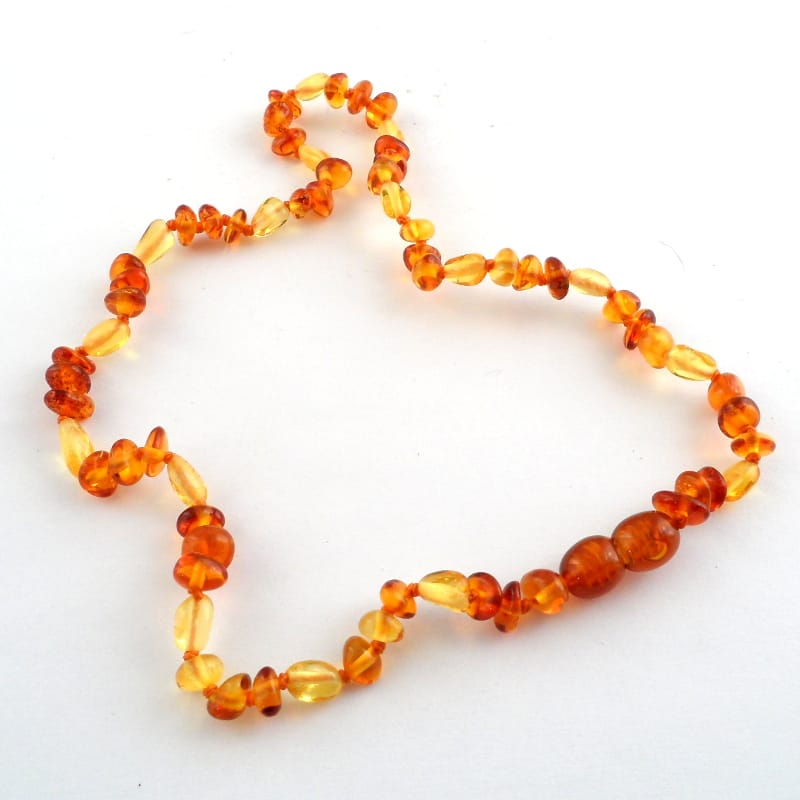 Amber Teething Necklace All Jewellery