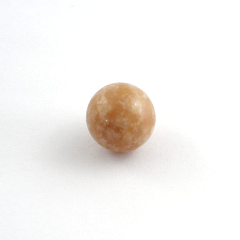 Honey and Cream Azeztulite Sphere All Polished Crystals azeztulite