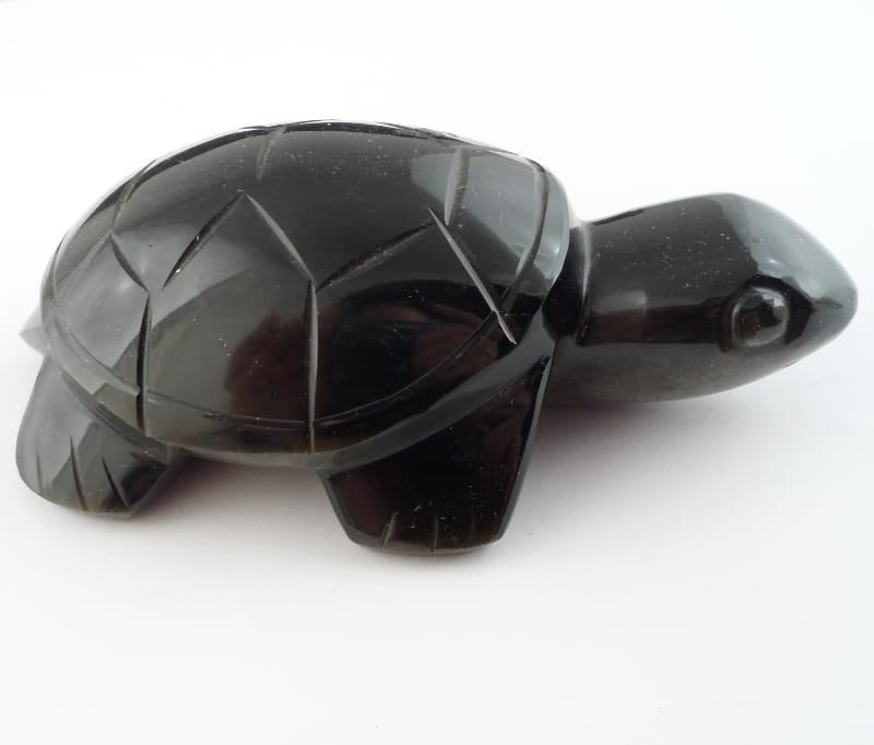 Obsidian, Gold Sheen Turtle All Specialty Items