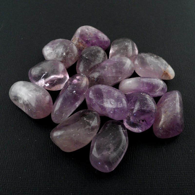 Amethyst, Maraba, md, tumbled, 8oz All Tumbled Stones maraba amethyst
