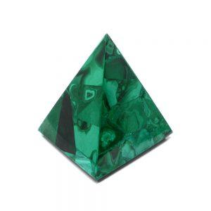 Malachite Pyramid Polished Crystals malachite