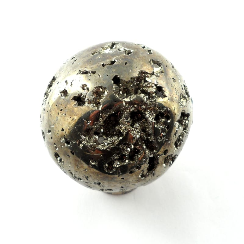 Pyrite, Sphere, 40mm Polished Crystals pyrite