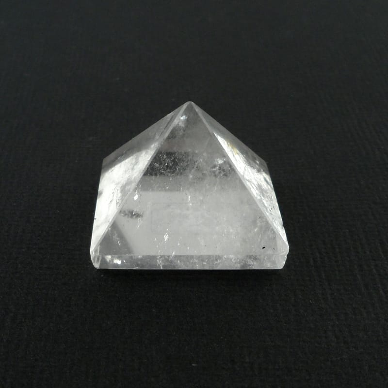 Clear Quartz Pyramid, small All Polished Crystals clear quartz
