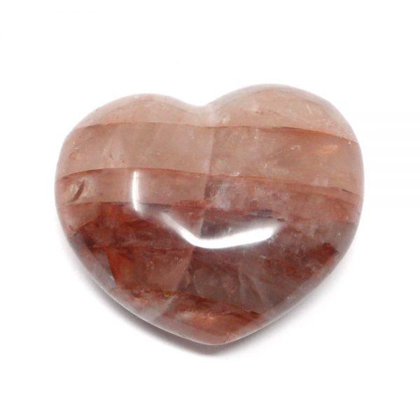 Hematoid Quartz Heart All Polished Crystals crystal heart