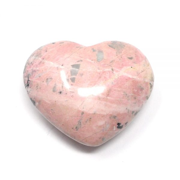 Rhodochrosite Heart All Polished Crystals crystal heart