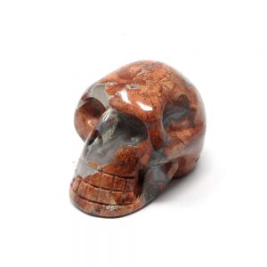 Poppy Jasper Skull All Polished Crystals crystal skull