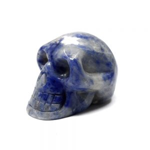 Sodalite Crystal Skull All Polished Crystals crystal skull