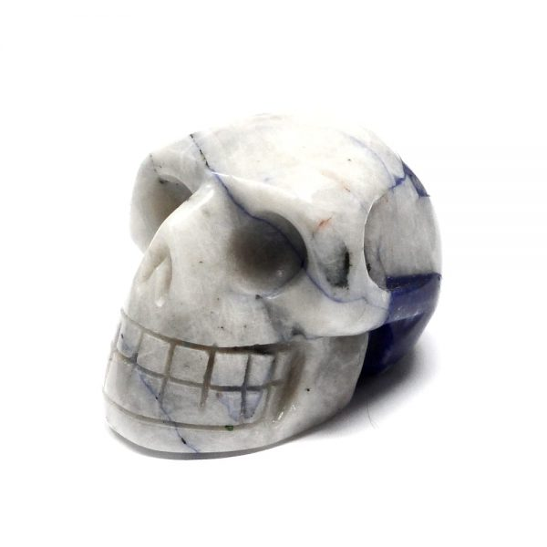 Sodalite Crystal Skull All Polished Crystals crystal skull