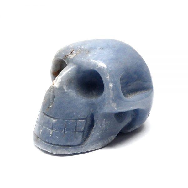 Angelite Skull All Polished Crystals angelite