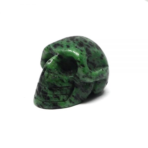 Ruby Zoisite Skull All Polished Crystals crystal skull
