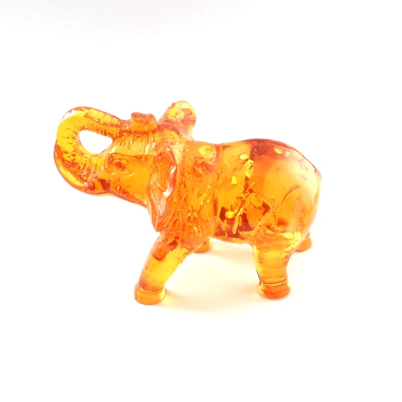Amber Elephant, Reconstituted All Specialty Items amber