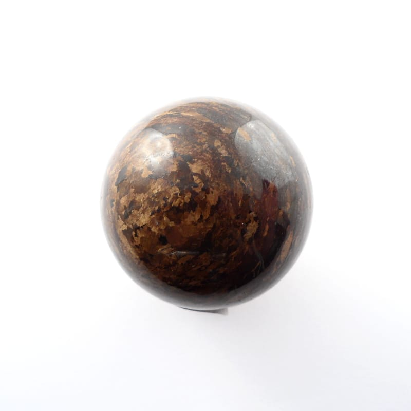 Bronzite Sphere,XQ, 40mm All Polished Crystals bronzite