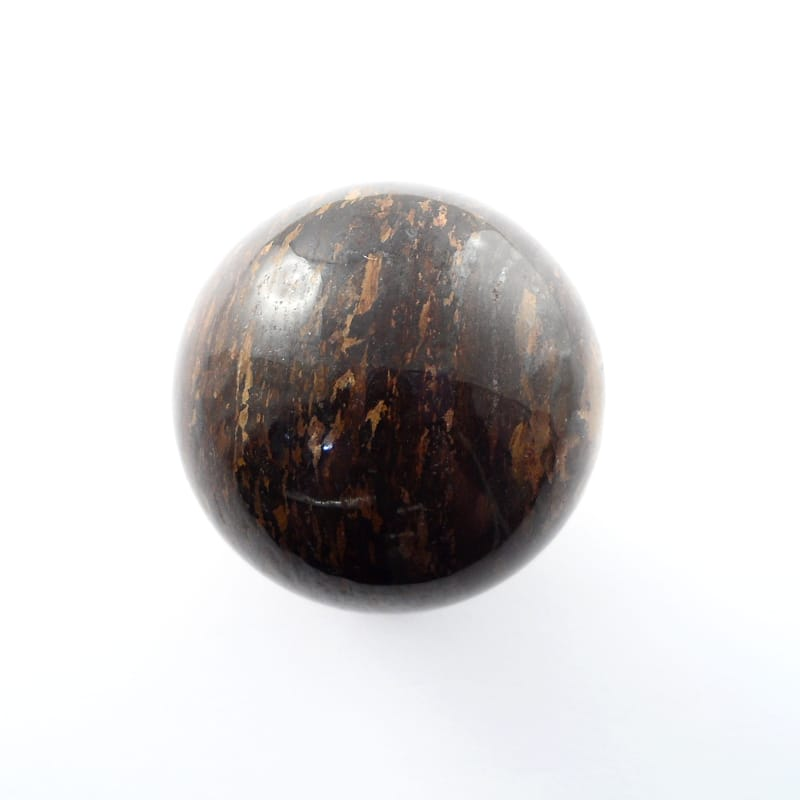 Bronzite Sphere,XQ, 40mm All Polished Crystals