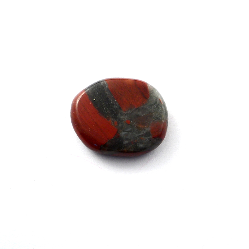 Chinese Bloodstone Pocket Stone