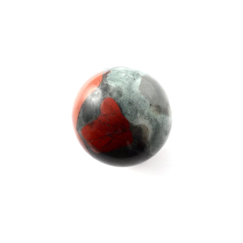 Chinese Bloodstone Sphere, 40mm Polished Crystals chinese bloodstone