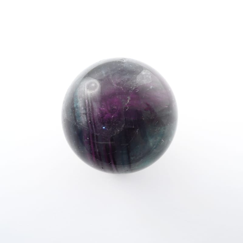 Fluorite Sphere, 40mm All Polished Crystals fluorite