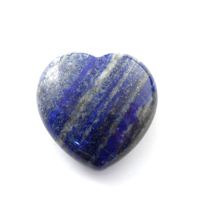 Lapis Heart All Polished Crystals