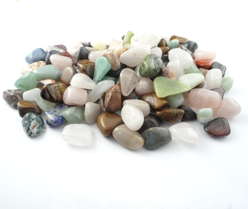 Mixed Tumbled Stones, sm, 16oz All Tumbled Stones