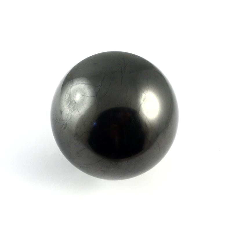 Shungite, Sphere, 70mm All Polished Crystals shungite