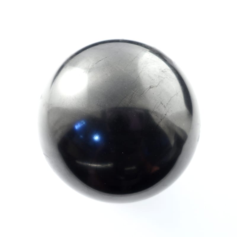 Shungite, Sphere, 50mm Polished Crystals shungite