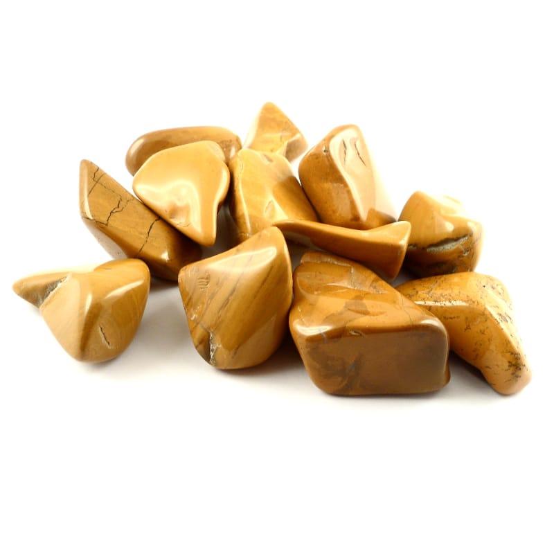 Jasper, Yellow, tumbled, 8oz All Tumbled Stones