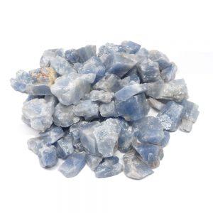 Raw Blue Calcite 16oz Raw Crystals blue calcite