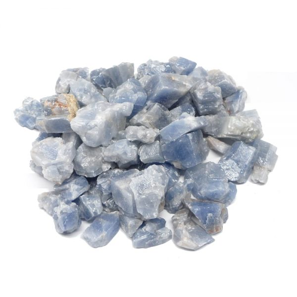 Raw Blue Calcite 16oz All Raw Crystals blue calcite