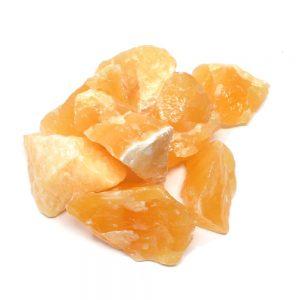 Raw Orange Calcite 16oz Raw Crystals bulk calcite