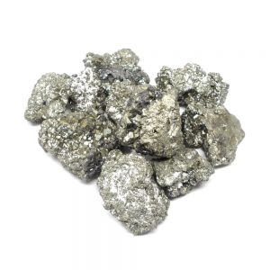 Raw Pyrite lg 16oz All Raw Crystals bulk crystals