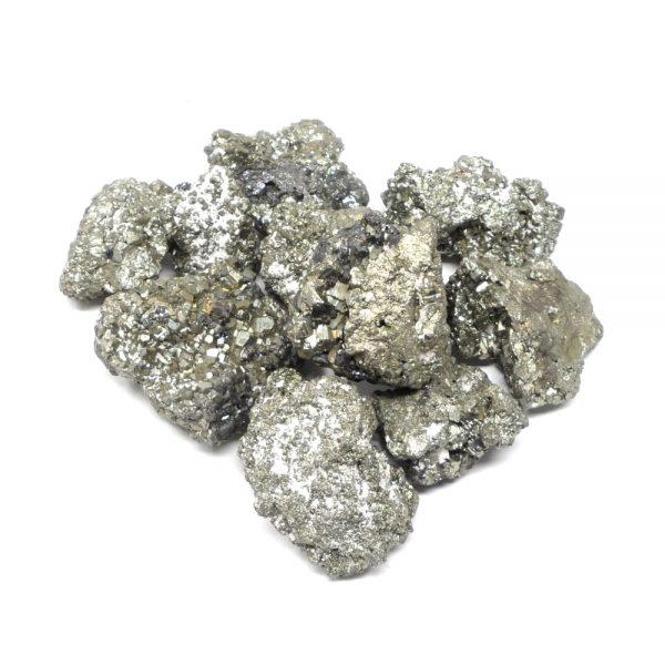 Raw Pyrite lg 16oz All Raw Crystals bulk crystals