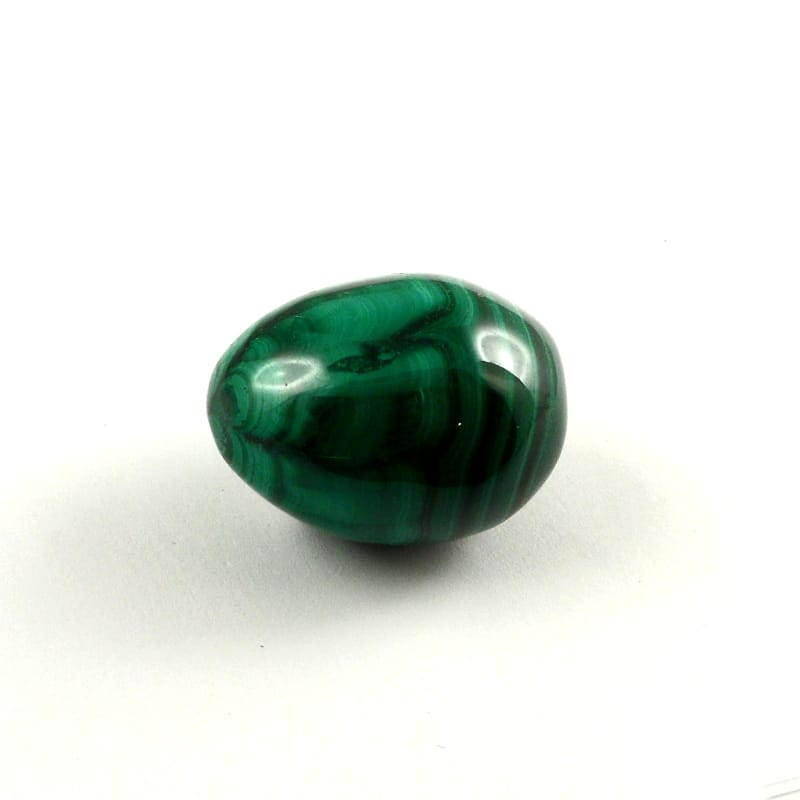 Malachite Egg Polished Crystals egg