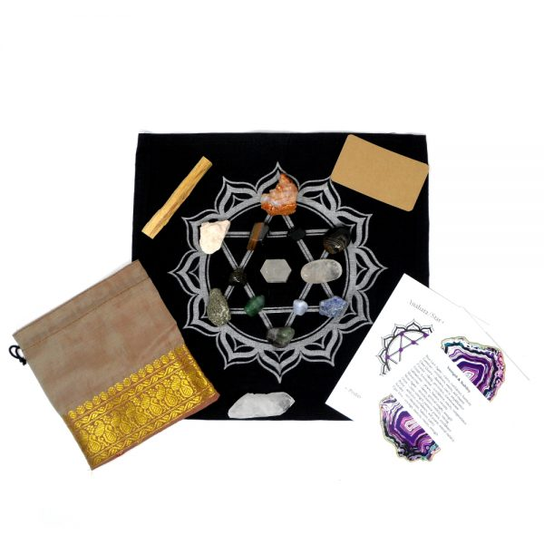 Make Your Own Crystal Grid – Strength & Stability All Specialty Items crystal grid