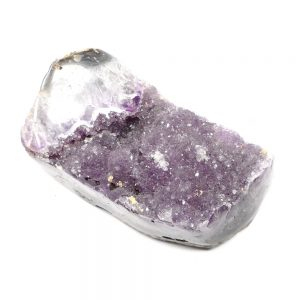 Amethyst Geode Part Polished All Raw Crystals amethyst