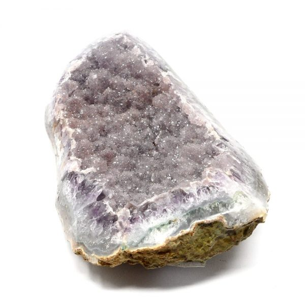 Mixed Mineral Geode All Raw Crystals amethyst