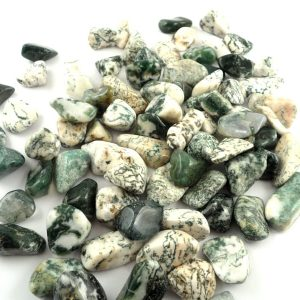 Agate, Tree tumbled 16oz All Tumbled Stones tree agate