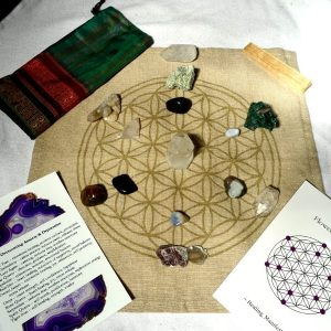 Make Your Own Crystal Grid – Overcoming Anxiety & Depression Kits & Grids crystal grid