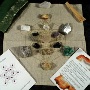 Make Your Own Crystal Grid - Cleansing & Protection