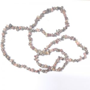 Leopardskin Chip Bead Strand All Crystal Jewelry chip beads