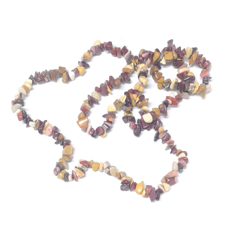 Mookaite Chip Bead Strand All Crystal Jewelry