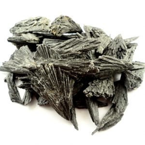 Black Kyanite Blades, 16oz Raw Crystals black kyanite
