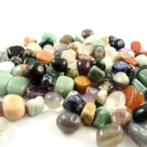 Mixed Tumbled Stones, 16oz All Tumbled Stones mixed tumbled