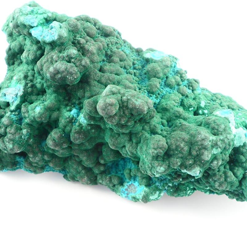 Malachite/Chrysocolla Specimen All Raw Crystals chrysocolla